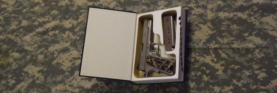 Conceal Your Pistol Or Revolver - Handgun Hideouts